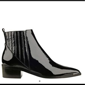 Marc Fisher LTD Yommi Patent Leather ankle boots